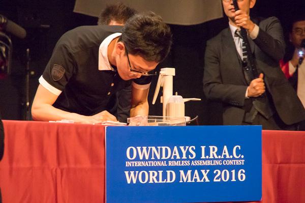 日本代表の石崎伸男さんも最後まで奮闘。