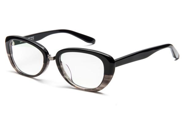 OWLboasorte「lovely」 カラー:1.black - gray demi(ブラック - グレーデミ) 価格:23,000円(税抜)