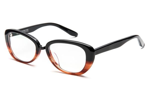 OWLboasorte「lovely」 カラー:2.black - brown demi(ブラック - ブラウンデミ) 価格:23,000円(税抜