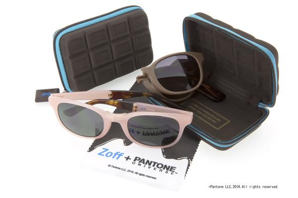 Zoff +PANTONE UNIVERSE™ サングラスシリーズ 価格:5,000円(税抜) image by インターメスティック