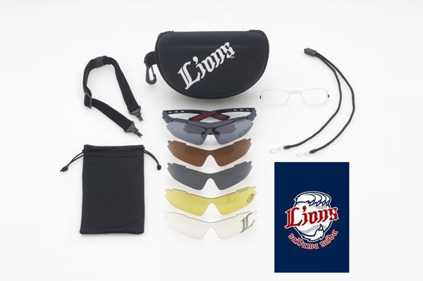 球団マークをプリントしたメガネ拭きは、Coolens(クーレンズ)店舗限定バージョンとライオンズストア限定バージョンの2種類。高機能スポーツサングラスとしても、応援グッズ・観戦アイテムとしてもオススメ。