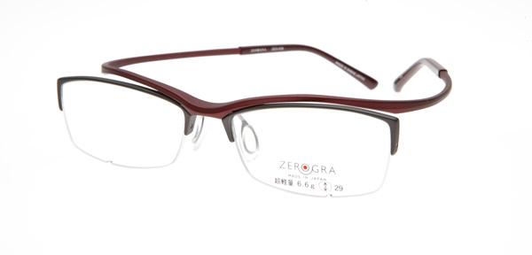眼鏡市場 ZEROGRA TOUGH(ゼログラ タフ) ZEG-039 カラーWIM 価格:19,440円(税込)