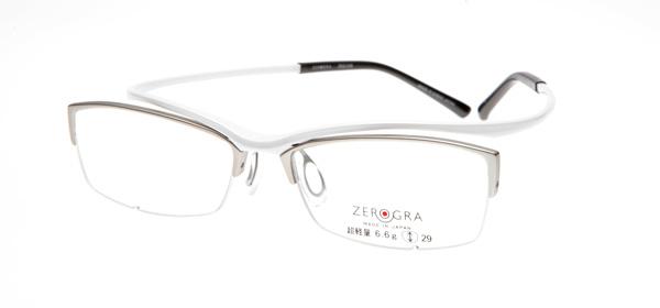 眼鏡市場 ZEROGRA TOUGH(ゼログラ タフ) ZEG-039 カラーW 価格:19,440円(税込)