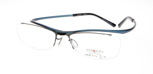 眼鏡市場 ZEROGRA TOUGH(ゼログラ タフ) ZEG-040 カラーBLU 価格:19,440円(税込)