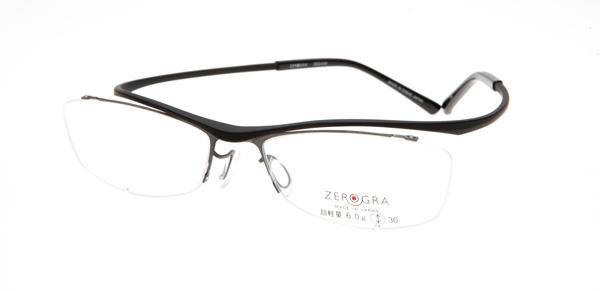眼鏡市場 ZEROGRA TOUGH(ゼログラ タフ) ZEG-040 カラーBKM 価格:19,440円(税込)
