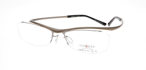 眼鏡市場 ZEROGRA TOUGH(ゼログラ タフ) ZEG-040 カラーCPG 価格:19,440円(税込)