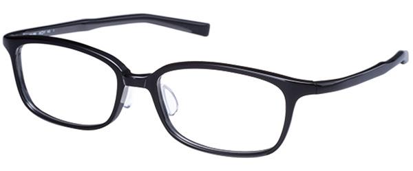 UTMO(アトモ)「UM-005」 価格:27,000円(税別) サイズ:53□17-143 カラー:ブラック、スモーク、ブラウンデミ、ブラウンササ スクエアのセルフレームは、オンオフ問わない万能選手。
