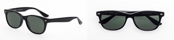 ojo(オッホ)OJO-101-BK-Jaguar 価格:8,980円(税込) 合わせやすくクールにキマる黒ぶちウェリントン。