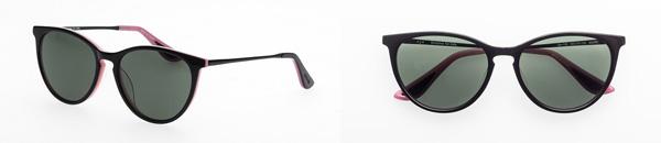 ojo(オッホ)OJO-102-BK-PK-meerkat 価格:8,980円(税込) 黒ぶちにピンクの差し色をプラス。ちょっぴり背伸びのおしゃれが楽しめるボストン。