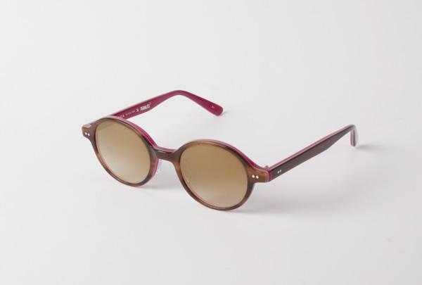 MASUNAGA since 1905 × PEANUTS KO-023 価格:29,000円(税抜) 人気のラウンドシェイプ「光輝 023」をベースにしたサングラス。カラーはBelle、Woodstock、Charlie Brownの3色。