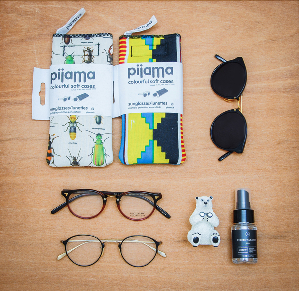 TLIP ルミネ北千住店では、国内外から厳選されたメガネ・サングラスに加え、アイウェアの楽しさをグッと広げるメガネにまつわる雑貨も展開。