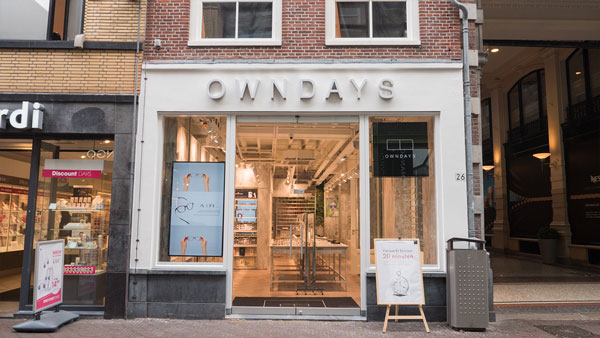オンデーズ デン・ハーグ店(OWNDAYS Den Haag) 住所:Shopping Centre Passage, Spuistraat 26/Passage 59, The Hague 公式サイト:https://www.owndays.com/nl/