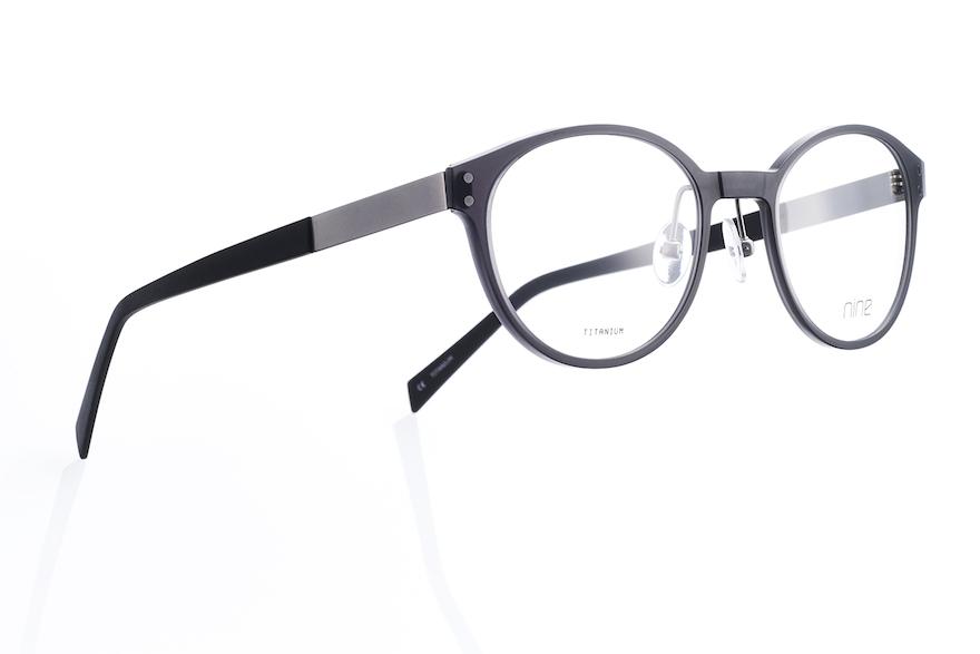 眼鏡フレーム [nine 3rd titanium 2433-SMK-50] © JDP GOOD DESIGN AWARD