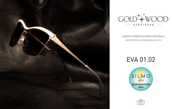 """GOLD&WOOD(ゴールド アンド ウッド)は、""""メガネ界のアカデミー賞""""SILMO D'OR(シルモドール)2016のサングラス部門にノミネート。"""