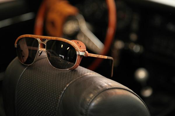 GOLD&WOOD(ゴールド アンド ウッド) BORN HERITAGE(LIMITED EDITION) 1950年代~1960年代のヴィンテージカーを元にデザインされた、レトロ・シックでスタイリッシュなサングラス。希少なウッドを使用し、細部にまでこだわった逸品。
