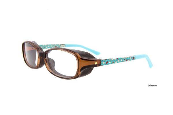 Zoff(ゾフ)「AIR VISOR ディズニーモデル」 ZE71KA2_C-1(Sサイズ、ブラウン)