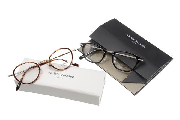 オープン記念として、フレーム・サングラスを16,200円(税込)以上購入したひとに「折りたたみ眼鏡ケース」を先着順でプレゼント。