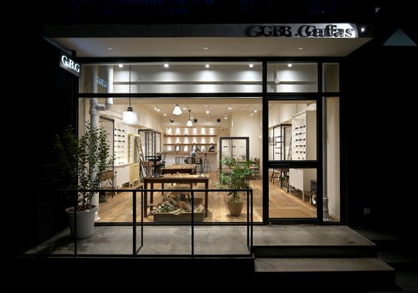 G.B.Gafas SHIBUYA(ジー・ビー・ガファス 渋谷)は、渋谷と原宿を結ぶキャットストリートにあるメガネのセレクトショップ。