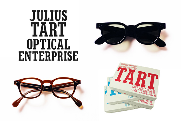 「【JULIUS TART OPTICAL】Launch Exhibition at The PARKSIDE ROOM 」は、3月11日(土)~4月11日(火)まで開催。