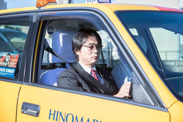 JINS DRIVE LENS 着用イメージ
