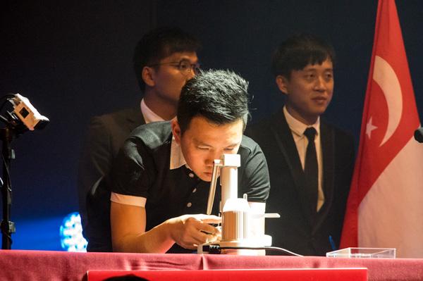 決勝に進出したのは、2015年の第1回大会で優勝したシンガポール代表のカーホーンさん。決勝に進出したのは、2015年の第1回大会で優勝したシンガポール代表のカーホーンさん。