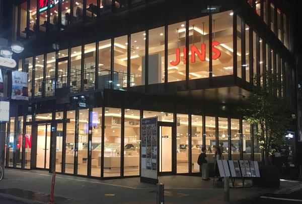 JINS 渋谷店 外観 image by JINS