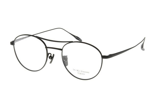 Oh My Glasses TOKYO「PATRICK」 5色展開+サングラス4色、標準レンズセット 価格:17,000円(税別)