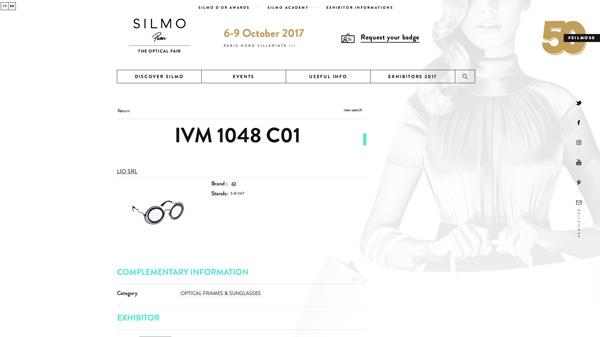 「IVM 1048 C01」(スクリーンショット)