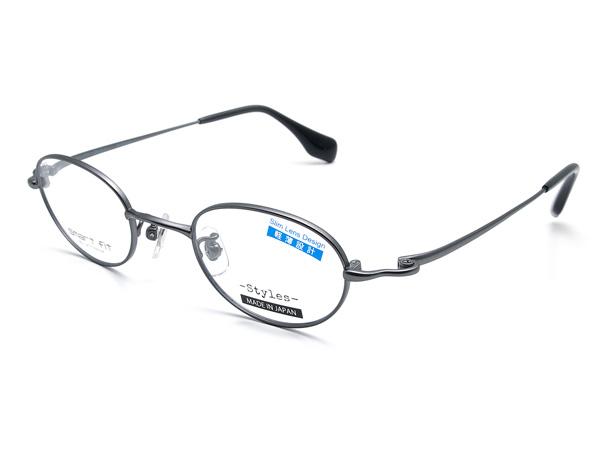 愛眼「SMART FIT Styles SF-8003M」 カラー:DGM(ダークガンメタ)