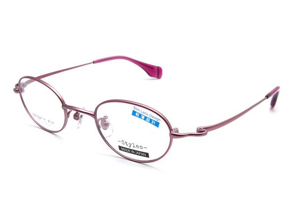 愛眼「SMART FIT Styles SF-8003M」 カラー:PKM(ピンクマット)