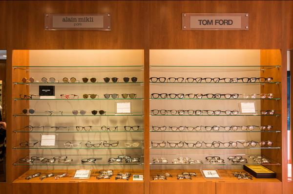 alain mikli(アラン ミクリ)のメガネフレーム・サングラス、そして TOM FORD(トム フォード)はメガネフレームも充実。