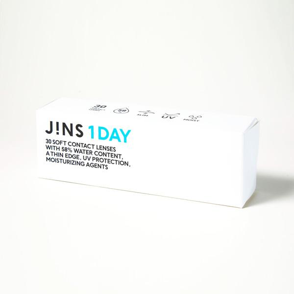 JINS 1DAY(ジンズ ワンデー)パッケージ
