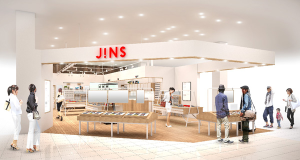 JINS TSUTAYA 鹿嶋南店 店頭イメージ