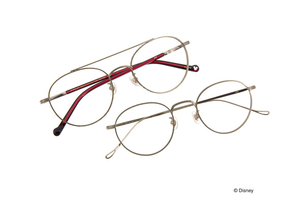 "Disney Collection created by Zoff Premium Series ""Vintage Line""は、「レトロ・スタイル」と「モダン・スタイル」の2タイプ。"