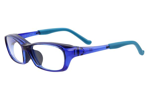 Zoff(ゾフ)AIR VISOR(エア・バイザー)スポーティーモデル ZE181V01 カラー71A1(ブルー) ※Sサイズ