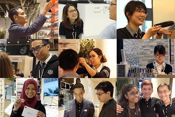 OWNDAYS(オンデーズ)は、世界10か国240店舗を展開している。