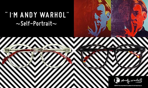 I'M ANDY WARHOL:Self-Portrait(セルフポートレート)イメージ画像