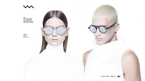 「Home | VAVA Eyewear」 (スクリーンショット)