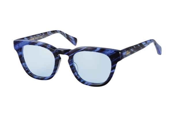 SWANS CLASSIC Series SWCG-001N カラー:DB フレーム:デミブルー レンズ:ライトブルー(裏面マルチ) 参考価格:22,000円(税別)