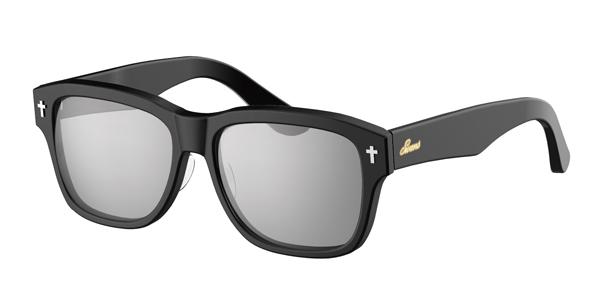 SWANS CLASSIC Series SWCG-002M カラー:BK フレーム:ブラック レンズ:シルバーミラー×スモーク(裏面マルチ) 参考価格:23,000円(税別)