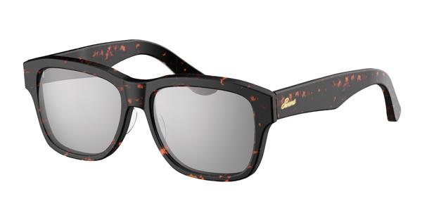 SWANS CLASSIC Series SWCG-002M カラー:DMBR フレーム:デミブラウン レンズ:シルバーミラー×スモーク(裏面マルチ) 参考価格:23,000円(税別)