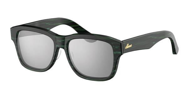 SWANS CLASSIC Series SWCG-002M カラー:BLSK フレーム:ササブルー レンズ:シルバーミラー×スモーク(裏面マルチ) 参考価格:23,000円(税別)