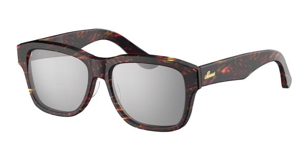 SWANS CLASSIC Series SWCG-002M カラー:CRD フレーム:クリアレッドデミ レンズ:シルバーミラー×スモーク(裏面マルチ) 参考価格:23,000円(税別)