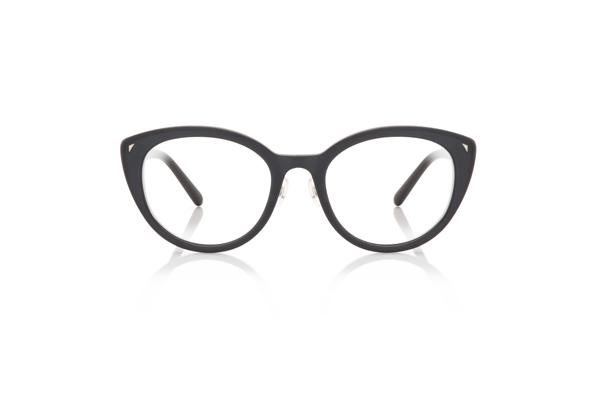 JINS Design Project(ジンズ デザインプロジェクト) Michele De Lucchi -Monica- UCF-18A-218 カラー:マットブラック(97) 価格:12,960円(税込、度付きレンズ代込)