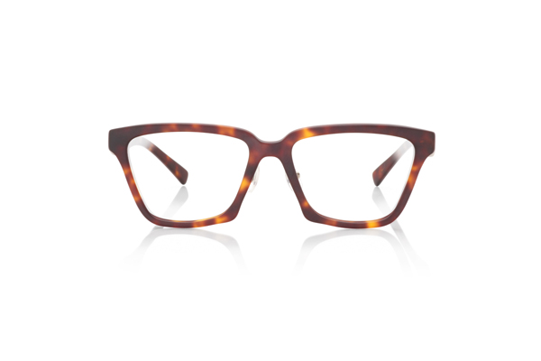 JINS Design Project(ジンズ デザインプロジェクト) Michele De Lucchi -Davide- UCF-18A-216 カラー:ブラウンデミ(86) 価格:12,960円(税込、度付きレンズ代込)