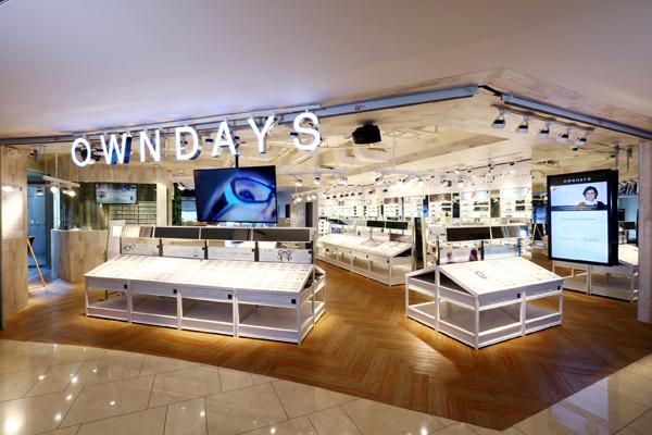 OWNDAYS(オンデーズ)店舗イメージ