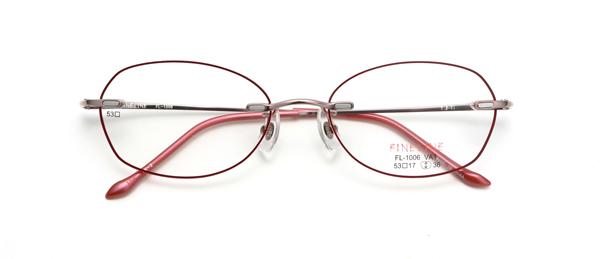 眼鏡市場 FINE LINE(ファインライン) FL-1001 カラーPK-2 VA1