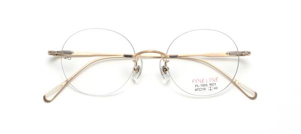 眼鏡市場 FINE LINE(ファインライン) FL-1005 カラーG RO1
