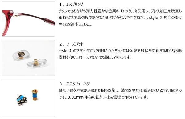 style J(スタイル ジェイ)3つの特徴