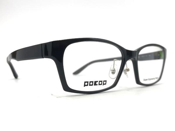 愛眼 POCOP(ポコプ) P-801 カラー2(BK) サイズ:58□17-150 価格:17,980円(税込、薄型レンズまたは遠近両用レンズ付き)